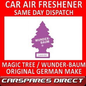 MAGIC TREE CAR AIR FRESHENER LAVENDER ORIGINAL & BEST - WUNDER-BAUM NEW