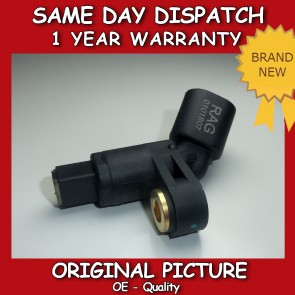 AUDI A3 1.6,1.8,1.9 ABS SENSOR FRONT LEFT 1996>2003 BRAND NEW 1H0927807