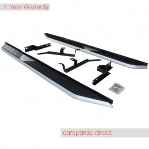 PORSCHE CAYENNE SIDE STEPS RUNNING BOARD 2010>on BRAND NEW
