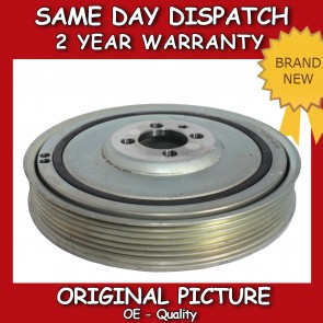 LANCIA DELTA, LYBRA, MUSA CRANKSHAFT PULLEY 1999>ON *BRAND NEW*